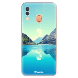 Odolné silikonové pouzdro iSaprio - Lake 01 - Samsung Galaxy A40