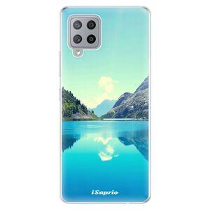 Odolné silikonové pouzdro iSaprio - Lake 01 - Samsung Galaxy A42