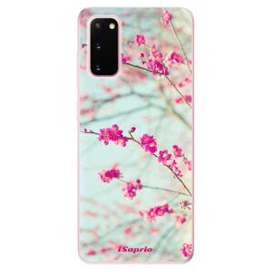 Odolné silikonové pouzdro iSaprio - Blossom 01 - Samsung Galaxy S20