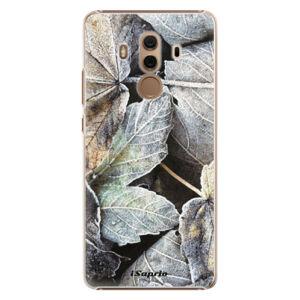 Plastové pouzdro iSaprio - Old Leaves 01 - Huawei Mate 10 Pro