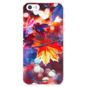Plastové pouzdro iSaprio - Autumn Leaves 02 - iPhone 5/5S/SE