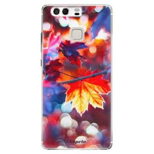 Plastové pouzdro iSaprio - Autumn Leaves 02 - Huawei P9