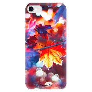 Odolné silikonové pouzdro iSaprio - Autumn Leaves 02 - iPhone SE 2020