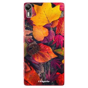 Plastové pouzdro iSaprio - Autumn Leaves 03 - Lenovo Vibe Shot