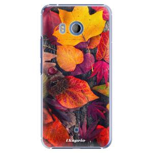 Plastové pouzdro iSaprio - Autumn Leaves 03 - HTC U11