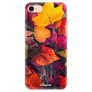Odolné silikonové pouzdro iSaprio - Autumn Leaves 03 - iPhone 7