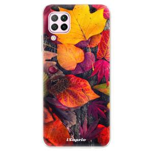Odolné silikonové pouzdro iSaprio - Autumn Leaves 03 - Huawei P40 Lite