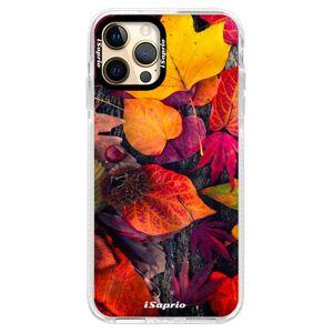 Silikonové pouzdro Bumper iSaprio - Autumn Leaves 03 - iPhone 12 Pro