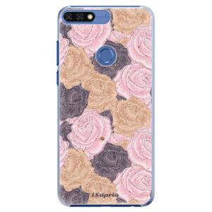 Plastové pouzdro iSaprio - Roses 03 - Huawei Honor 7C