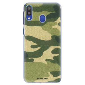 Plastové pouzdro iSaprio - Green Camuflage 01 - Samsung Galaxy M20