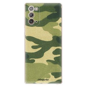 Odolné silikonové pouzdro iSaprio - Green Camuflage 01 - Samsung Galaxy Note 20