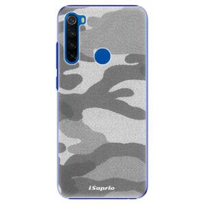 Plastové pouzdro iSaprio - Gray Camuflage 02 - Xiaomi Redmi Note 8T