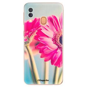 Odolné silikonové pouzdro iSaprio - Flowers 11 - Samsung Galaxy A40