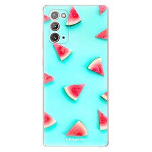 Odolné silikonové pouzdro iSaprio - Melon Patern 10 - Samsung Galaxy Note 20