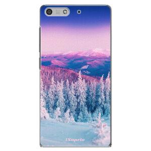 Plastové pouzdro iSaprio - Winter 01 - Huawei Ascend P7 Mini