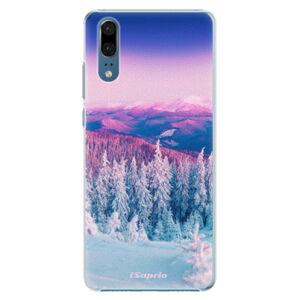 Plastové pouzdro iSaprio - Winter 01 - Huawei P20