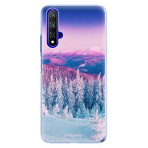 Plastové pouzdro iSaprio - Winter 01 - Huawei Honor 20