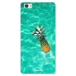 Silikonové pouzdro iSaprio - Pineapple 10 - Huawei Ascend P8 Lite