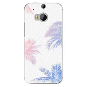 Plastové pouzdro iSaprio - Digital Palms 10 - HTC One M8