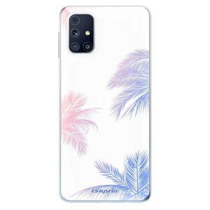 Odolné silikonové pouzdro iSaprio - Digital Palms 10 - Samsung Galaxy M31s