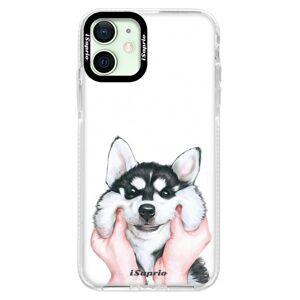 Silikonové pouzdro Bumper iSaprio - Malamute 01 - iPhone 12