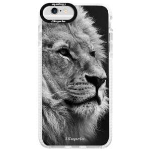 Silikonové pouzdro Bumper iSaprio - Lion 10 - iPhone 6/6S