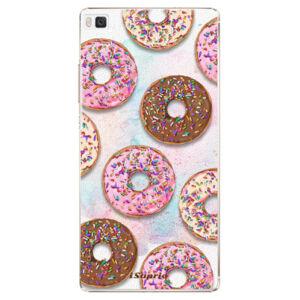 Plastové pouzdro iSaprio - Donuts 11 - Huawei Ascend P8