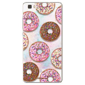 Plastové pouzdro iSaprio - Donuts 11 - Huawei Ascend P8 Lite