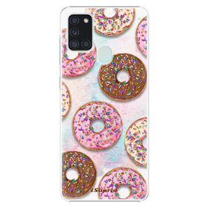 Plastové pouzdro iSaprio - Donuts 11 - Samsung Galaxy A21s