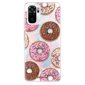Odolné silikonové pouzdro iSaprio - Donuts 11 - Xiaomi Redmi Note 10 / Note 10S