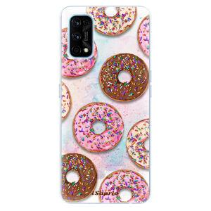 Odolné silikonové pouzdro iSaprio - Donuts 11 - Realme 7 Pro