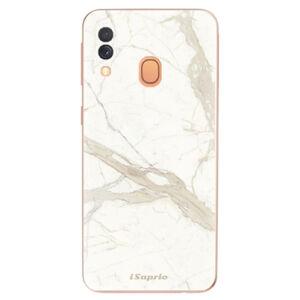 Odolné silikonové pouzdro iSaprio - Marble 12 - Samsung Galaxy A40