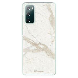Plastové pouzdro iSaprio - Marble 12 - Samsung Galaxy S20 FE