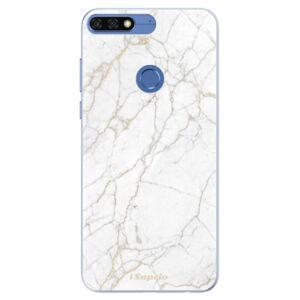 Silikonové pouzdro iSaprio - GoldMarble 13 - Huawei Honor 7C