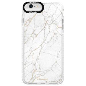 Silikonové pouzdro Bumper iSaprio - GoldMarble 13 - iPhone 6/6S
