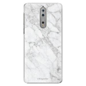 Plastové pouzdro iSaprio - SilverMarble 14 - Nokia 8