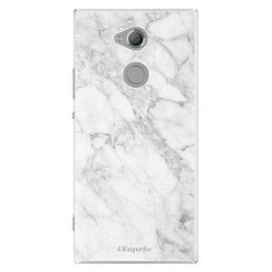 Plastové pouzdro iSaprio - SilverMarble 14 - Sony Xperia XA2 Ultra