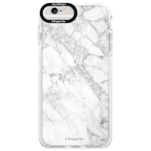 Silikonové pouzdro Bumper iSaprio - SilverMarble 14 - iPhone 6/6S