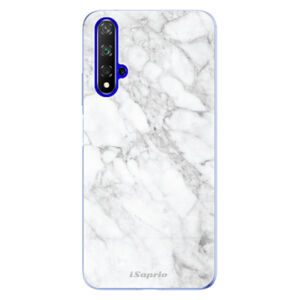 Odolné silikonové pouzdro iSaprio - SilverMarble 14 - Huawei Honor 20