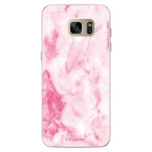 Silikonové pouzdro iSaprio - RoseMarble 16 - Samsung Galaxy S7