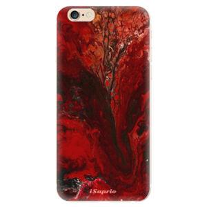 Odolné silikonové pouzdro iSaprio - RedMarble 17 - iPhone 6/6S