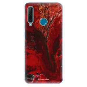 Odolné silikonové pouzdro iSaprio - RedMarble 17 - Honor 20e