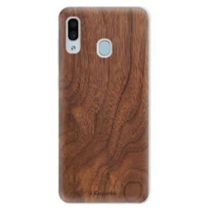Silikonové pouzdro iSaprio - Wood 10 - Samsung Galaxy A30