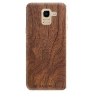 Odolné silikonové pouzdro iSaprio - Wood 10 - Samsung Galaxy J6