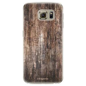 Plastové pouzdro iSaprio - Wood 11 - Samsung Galaxy S6 Edge Plus