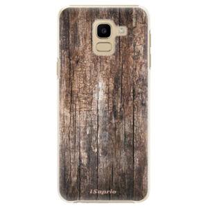 Plastové pouzdro iSaprio - Wood 11 - Samsung Galaxy J6