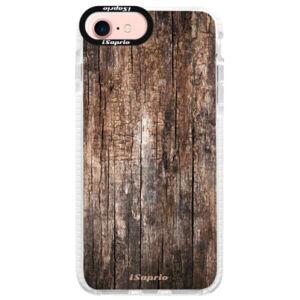 Silikonové pouzdro Bumper iSaprio - Wood 11 - iPhone 7