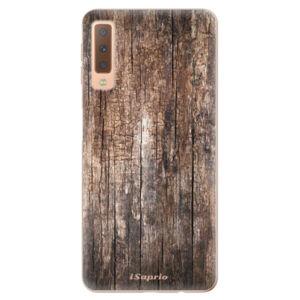 Odolné silikonové pouzdro iSaprio - Wood 11 - Samsung Galaxy A7 (2018)