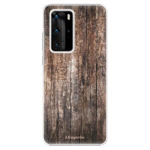 Plastové pouzdro iSaprio - Wood 11 - Huawei P40 Pro