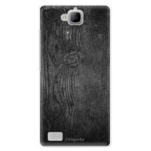 Plastové pouzdro iSaprio - Black Wood 13 - Huawei Honor 3C